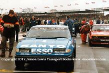 Rover 3500 SD1 . Jeff Allan. Photo. Silverstone June 1982 BTCC (RAC Saloons)